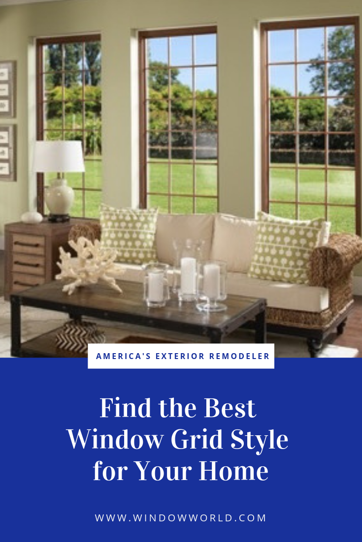 Finding the Best Window Grid Style for Your Home | Window World
