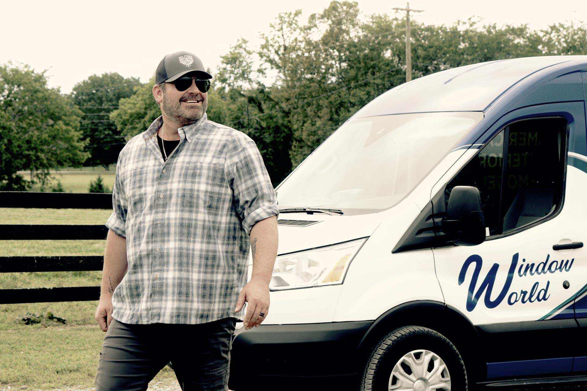 Header Lee Brice Window World Van