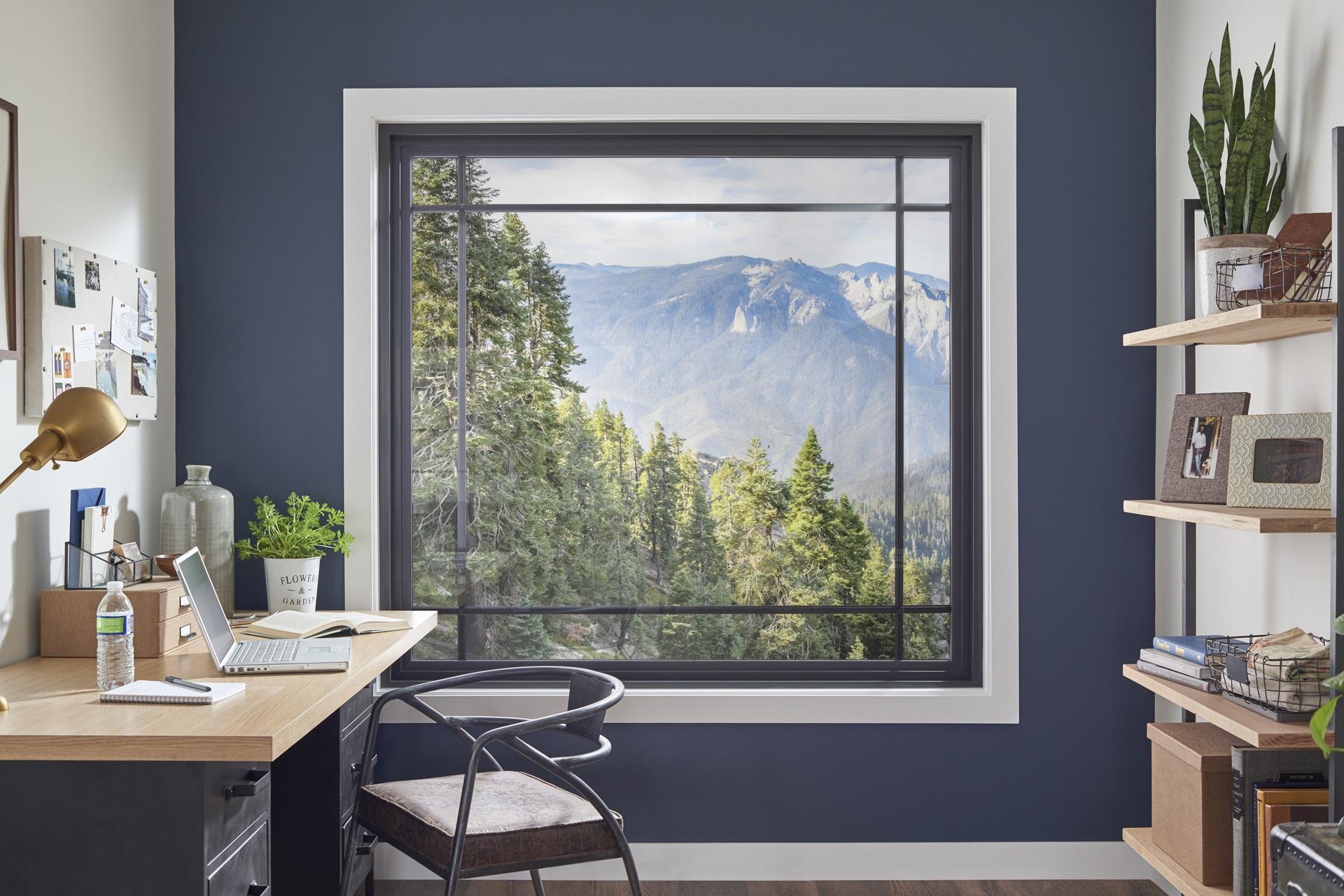 Header Window World Home Office