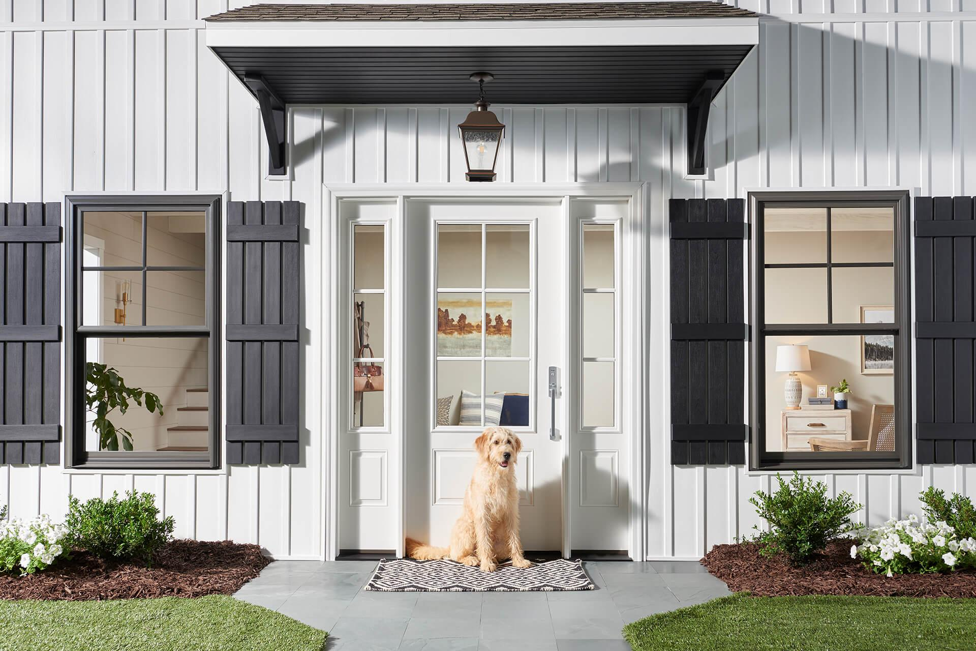 Farmhouse Door Dog Window World Hero 1980X1280