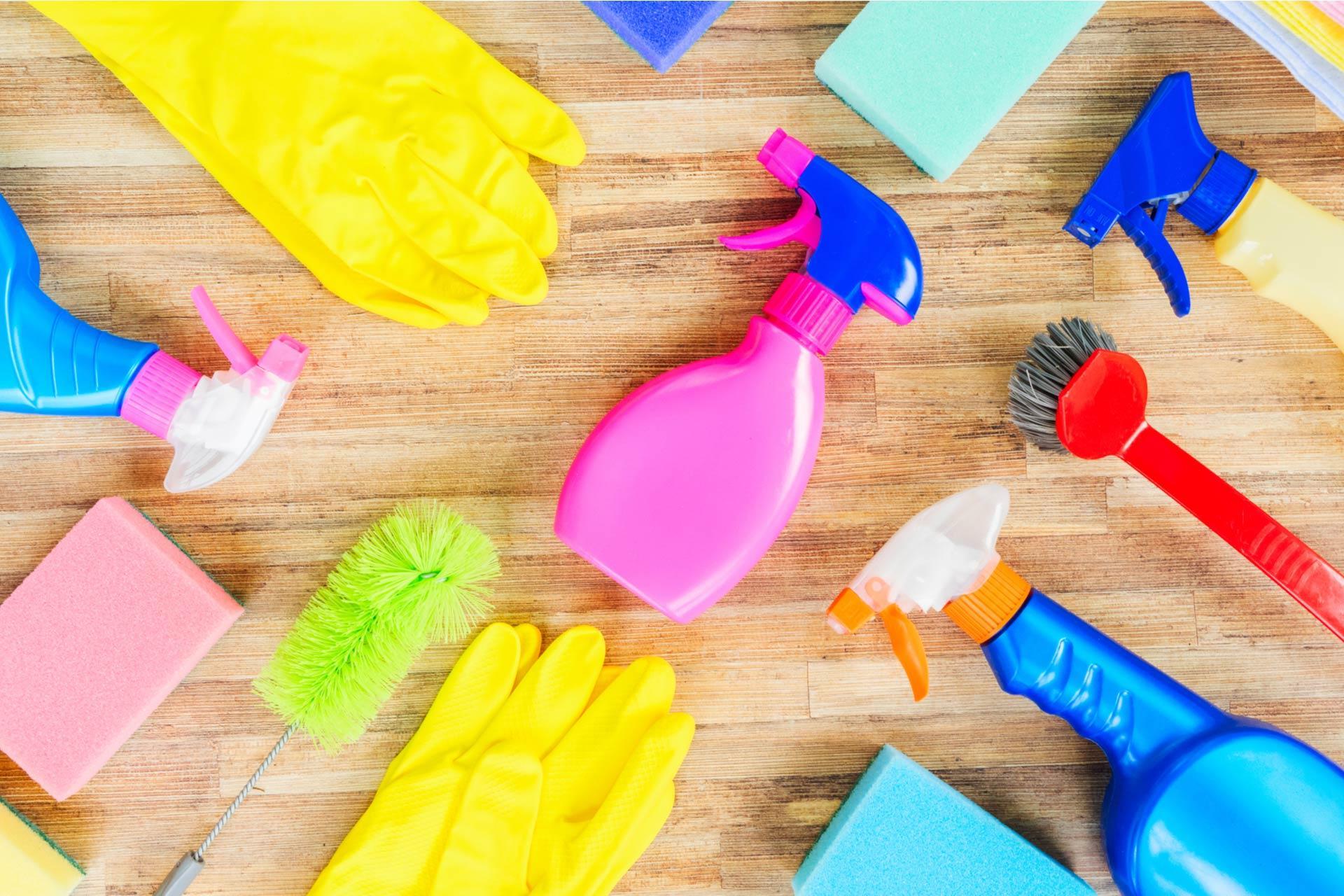 Header Spring Cleaning Blog