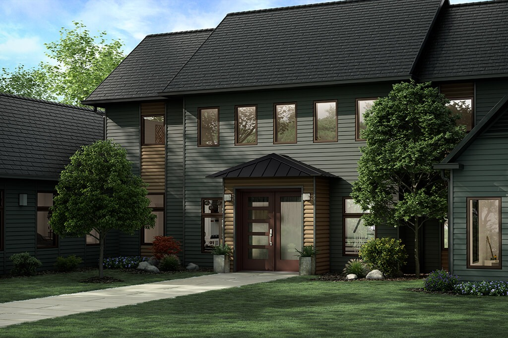 Modern home architectural style