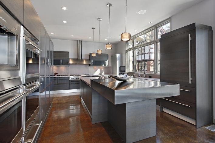 Windows for modern kitchens