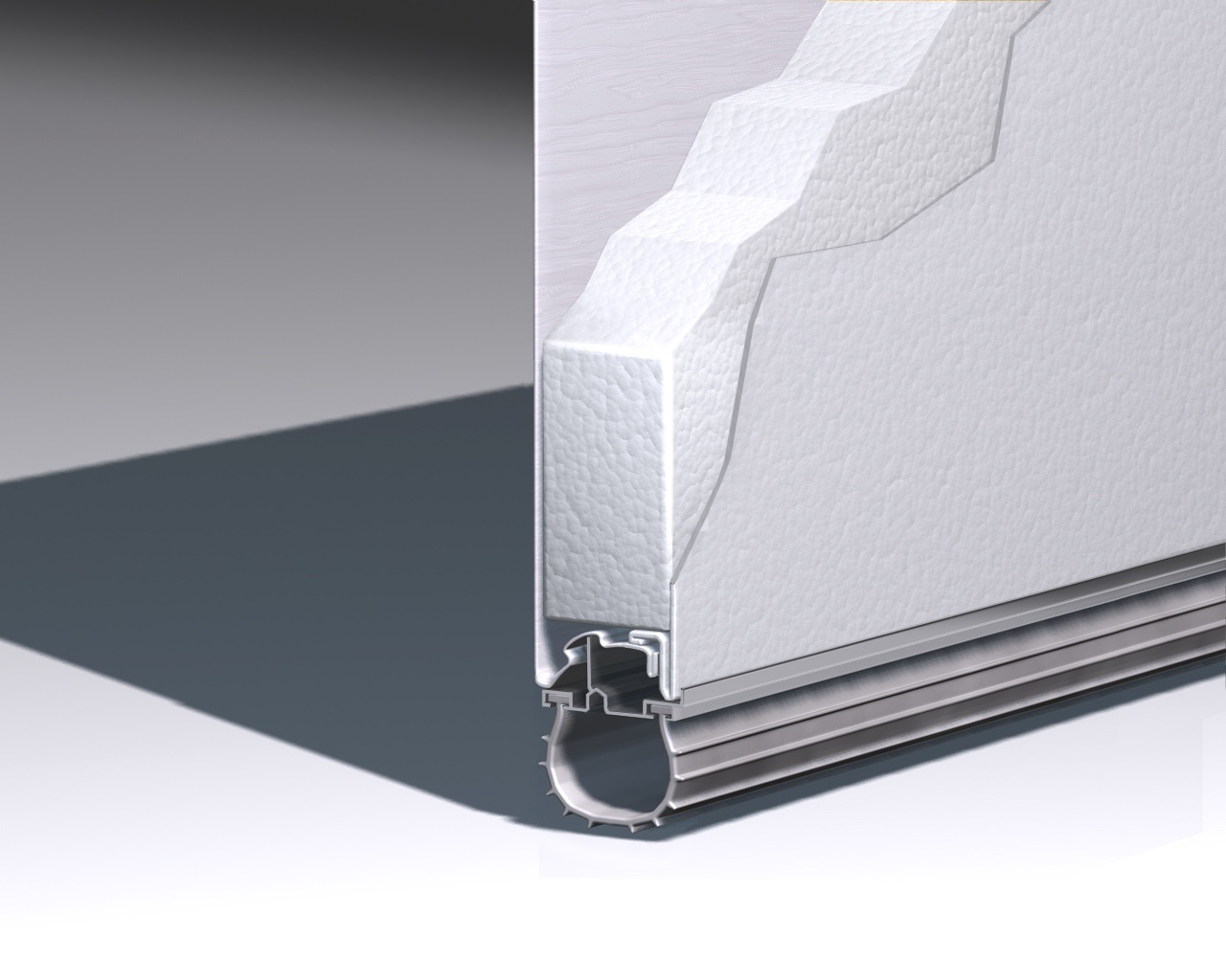 Triple-Layer Steel Insulation