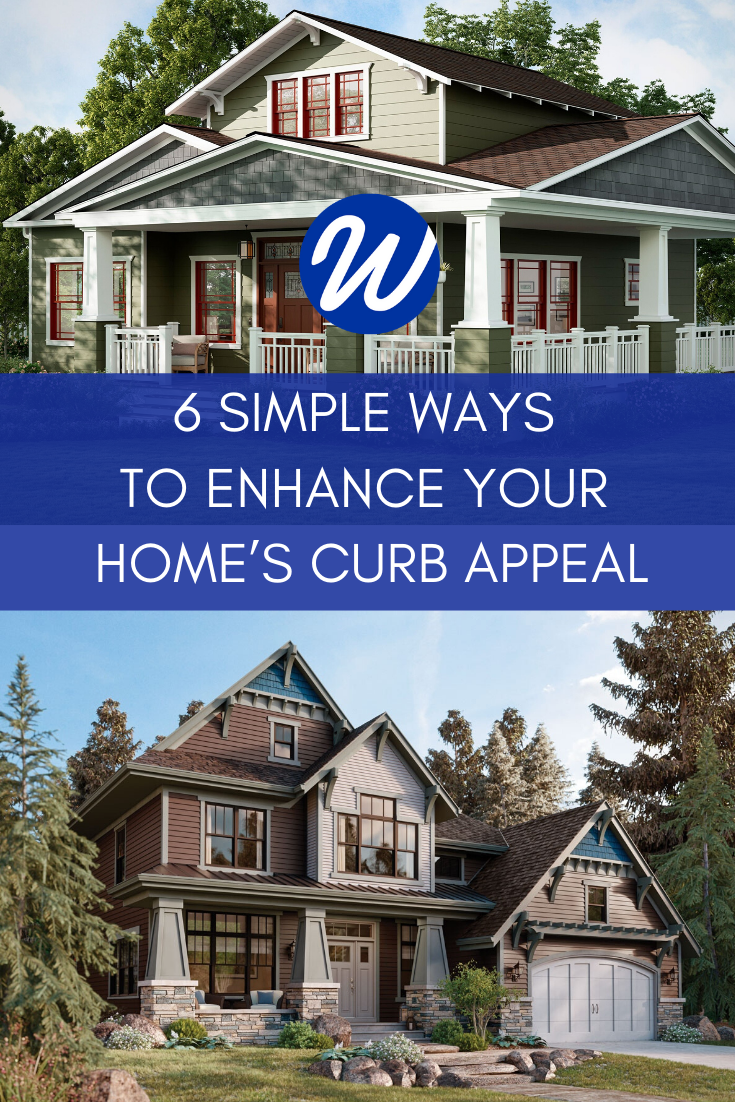 6 Simple Ways to Enhance Your Home's Curb Appeal | Window World