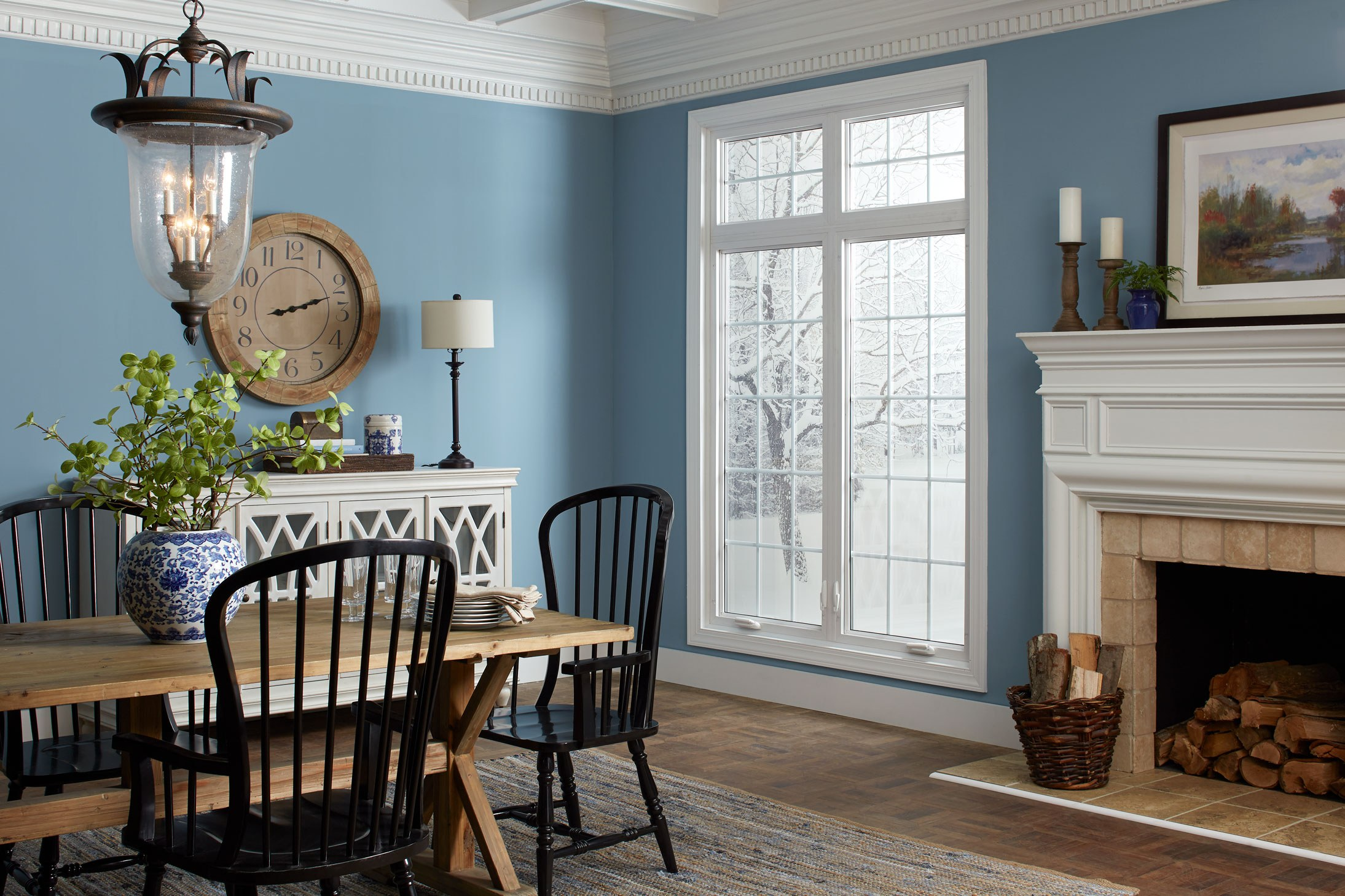 Ami Casements Transom White Colonial