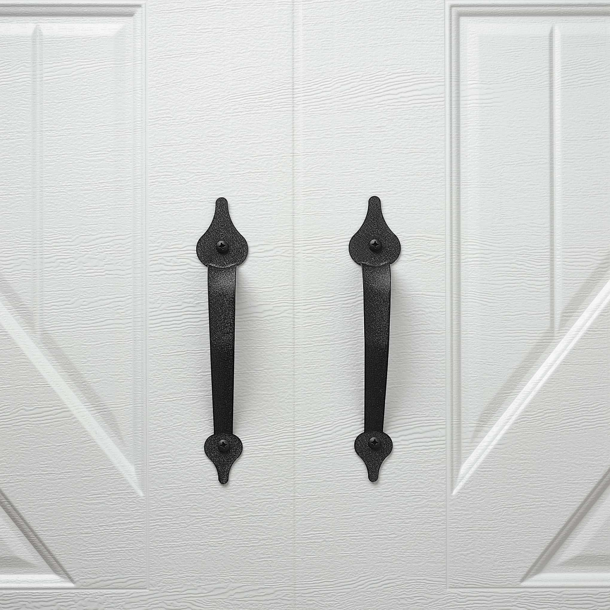 Decorative Stamped Steel Hardware Handles
