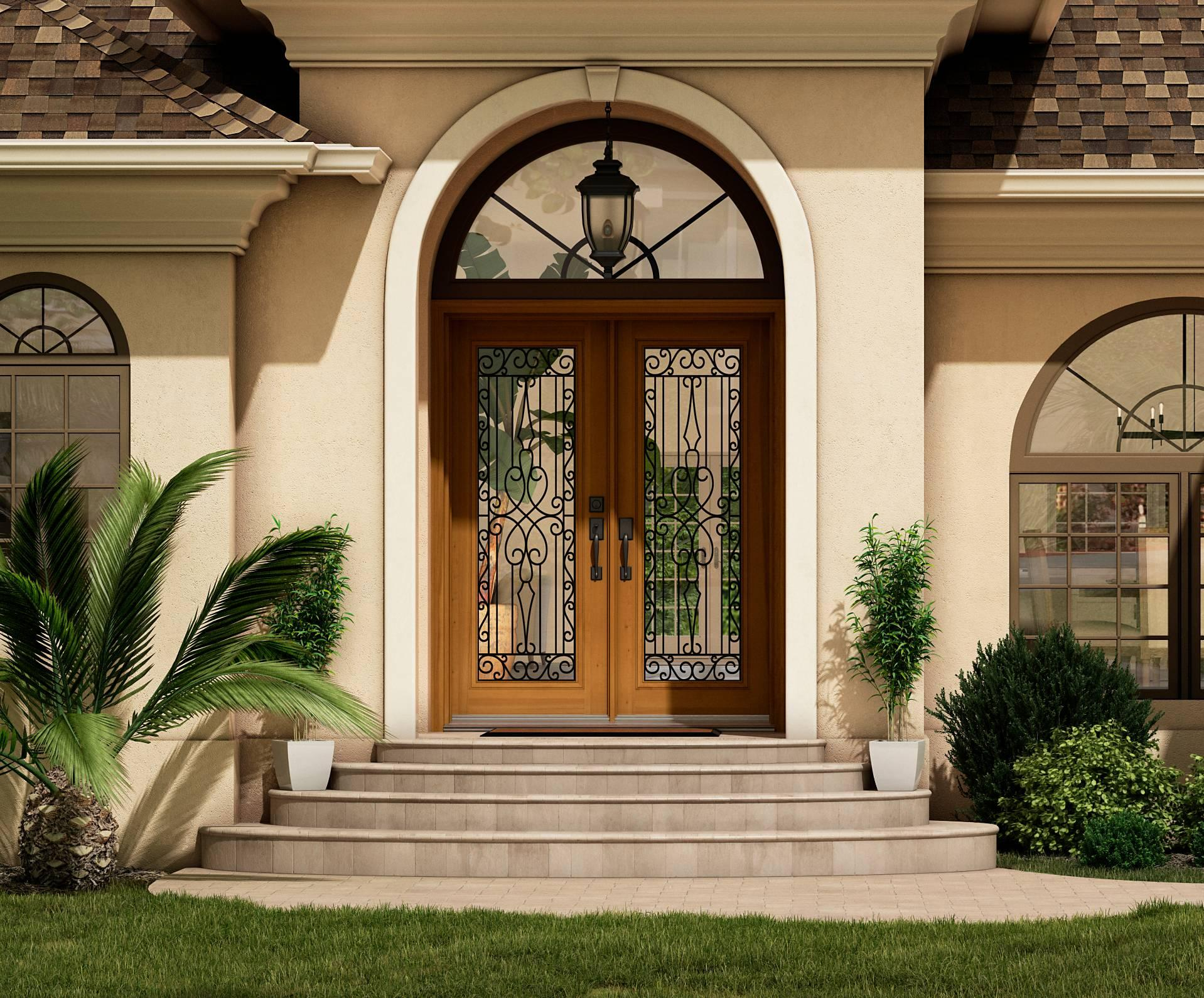 Florida Decorative Glass Door Edited Pixlr