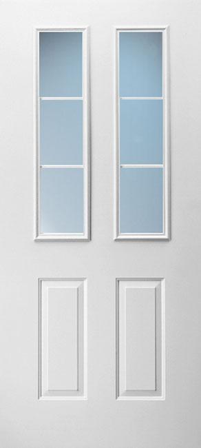 2 Panel Twin Half 3-Lite