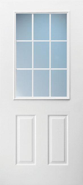 2 Panel Half 9-Lite