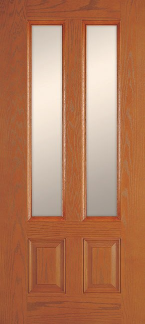 2 Panel 3 Quarter Twin