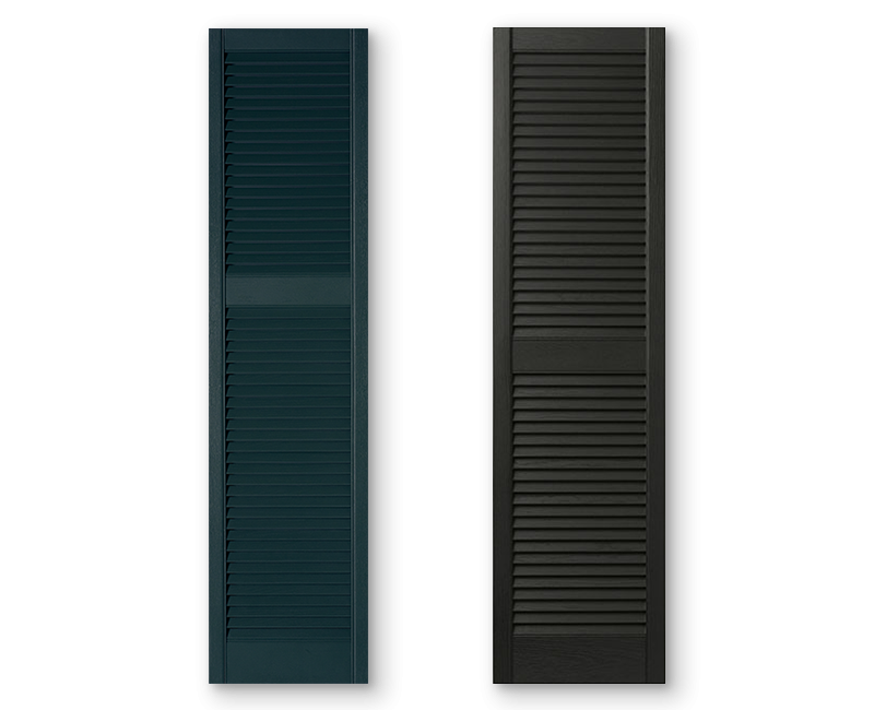 Hero Shutters Louvered