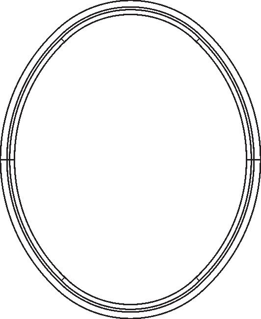 True Oval